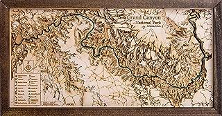 Grand Canyon 3D Wood Map