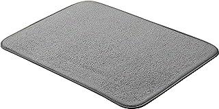 AmazonBasics - Esterilla de secado, 48 x 61 cm, color carbón, 3 unidades