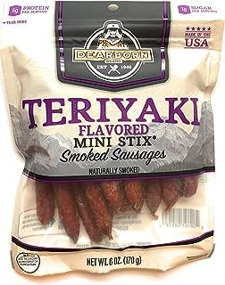 Dearborn Brand - Teriyaki Mini Stix Smoked Sausage - 6 oz.