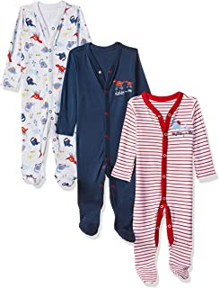 Mothercare Boy's Baby Sleepwear-Other (Pack of 3)