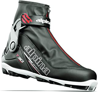 Alpina Sports T30 Cross-Country Touring Ski Boots, Black/White/Red, Size 35