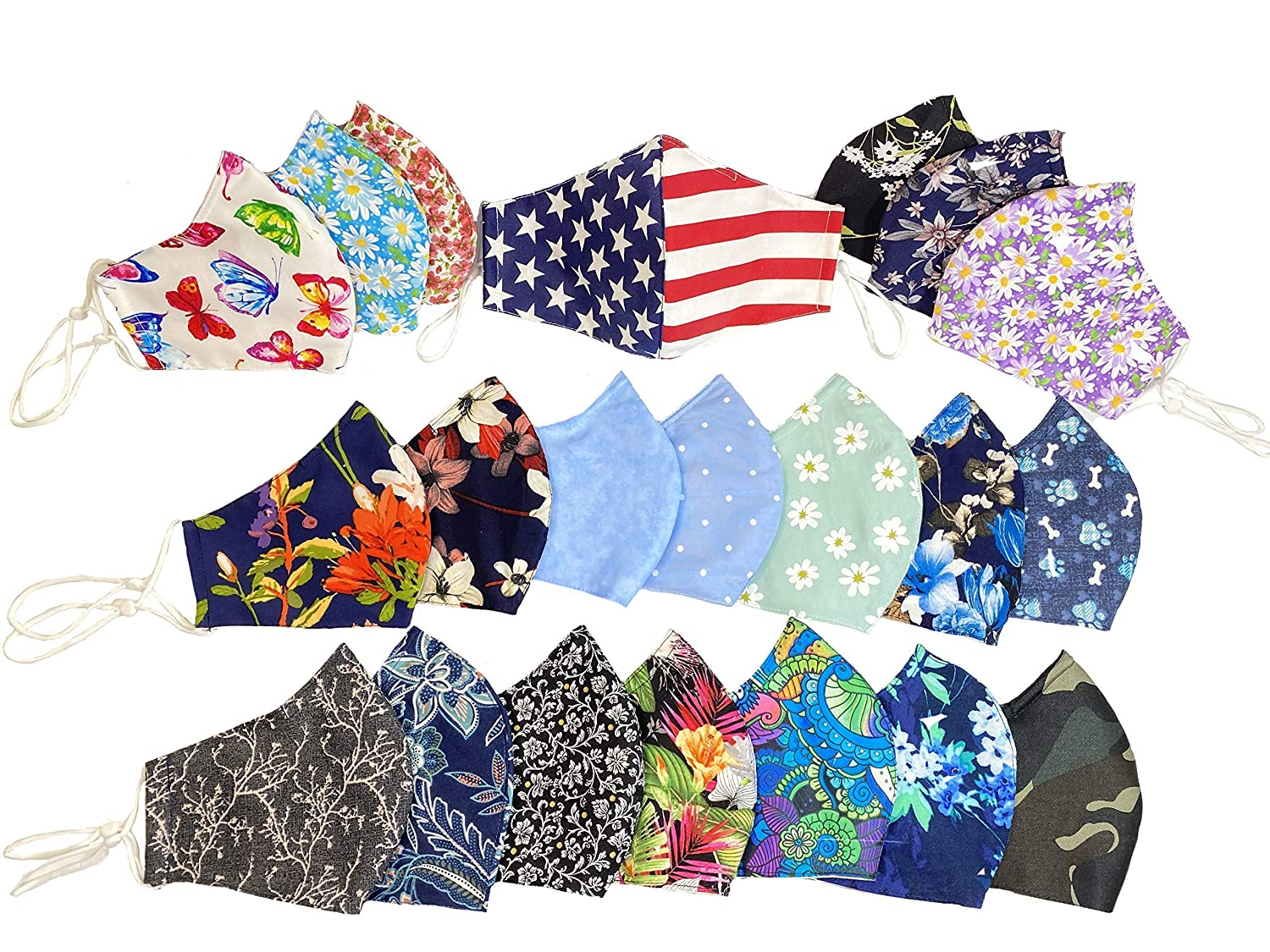 Popular overseas USA Cloth Face Mask Adult Colorado Springs Mall Cotton Coverings 100%