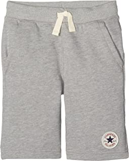 Converse Kids - Core French Terry CTP Shorts (Big Kids)