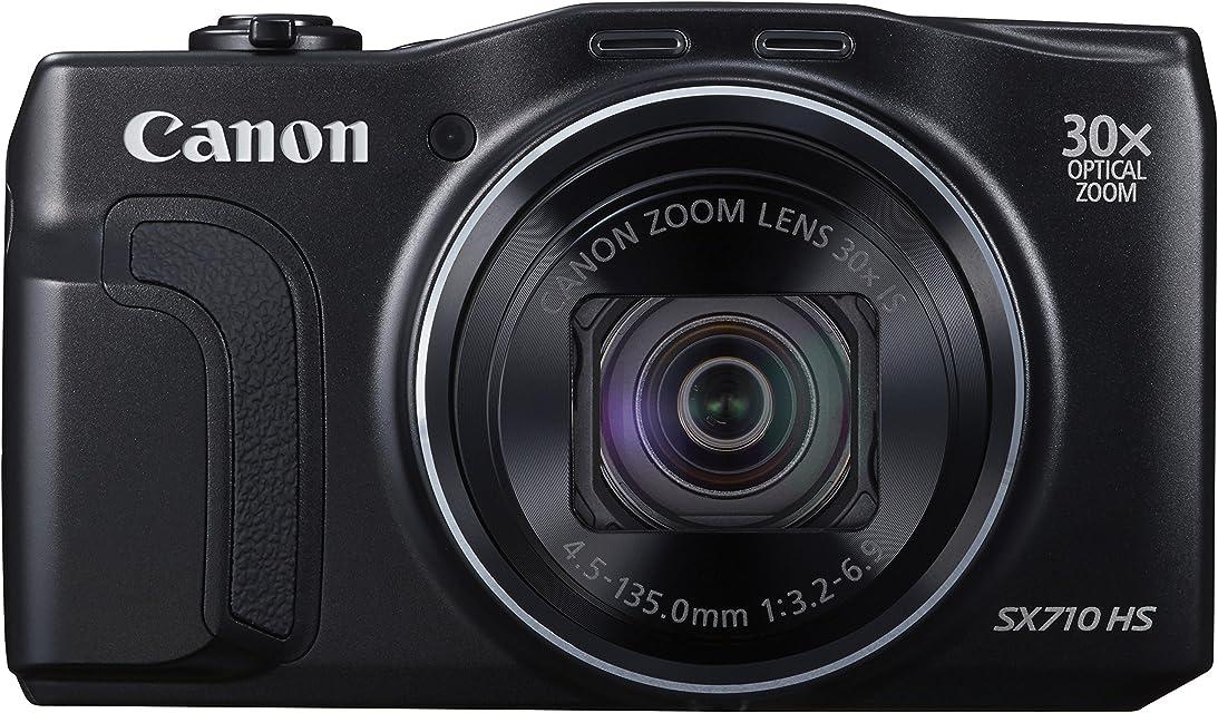 Canon SX 710 HS - Cámara compacta de 20.3 MP (Pantalla de 3 Zoom óptico 30x estabilizador óptico Video Full HD) Negro