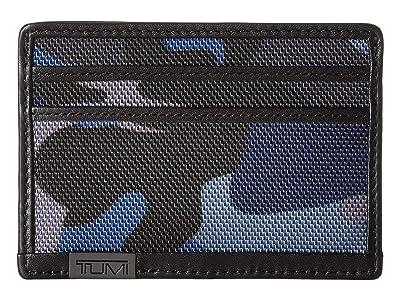 Tumi Alpha Slim Card Case (Camo) Handbags