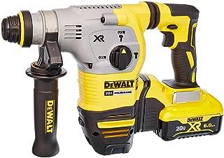 "DEWALT DCH293R2 20V Max XR Brushless 1-1/8"" L-Shape SDS Plus Rotary Hammer Kit"