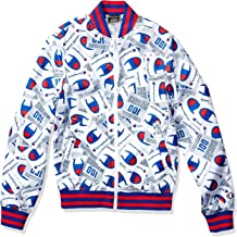Champion LIFE Men's Satin Baseball Jacket-All Over Print