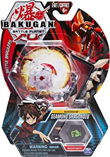 Bakugan, Diamond Dragonoid, 2-inch Tall Collectible Transforming Creature, for Ages 6 and Up