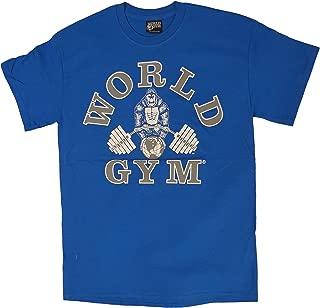 W100 Bodybuilding Gym Shirt 2-Side Logo Print