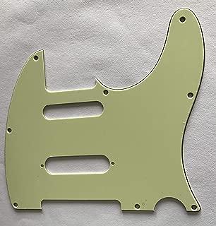For Fender Telecaster Nashville Tele Guitar Pickguard (3 Ply Vintage Green)