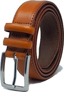 Ashford Ridge Mens 33mm Double Loop Leather Belt