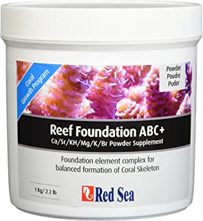 Red Sea Fish Pharm ARE22007 Reef Foundation Salt Water Conditioners for Aquarium, 1kg