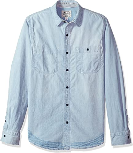 Lucky Brand Homme 7M12748 Manches Longues Chemise boutonnée