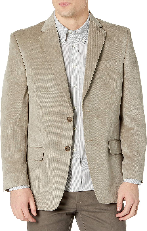 Haggar Men's Twill Two-Button Center-Vent Sport Coat