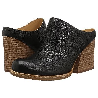 Kork-Ease Challis (Black Full Grain Leather) Women