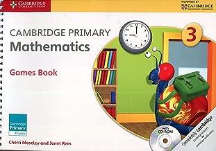 Cambridge الأساسية ألعاب الرياضيات Stage 3الكتاب مع على قرص مدمج (Cambridge maths الأساسية)