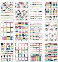 Simple Stories Carpe Diem A5StickerPlanBasic, Multicolor