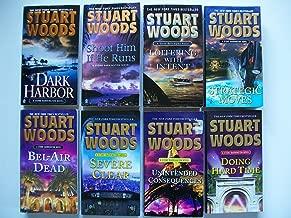 Stuart Woods (Set of 8) Dark Harbor; Strategic Moves; Severe Clear; Doing Hard Time