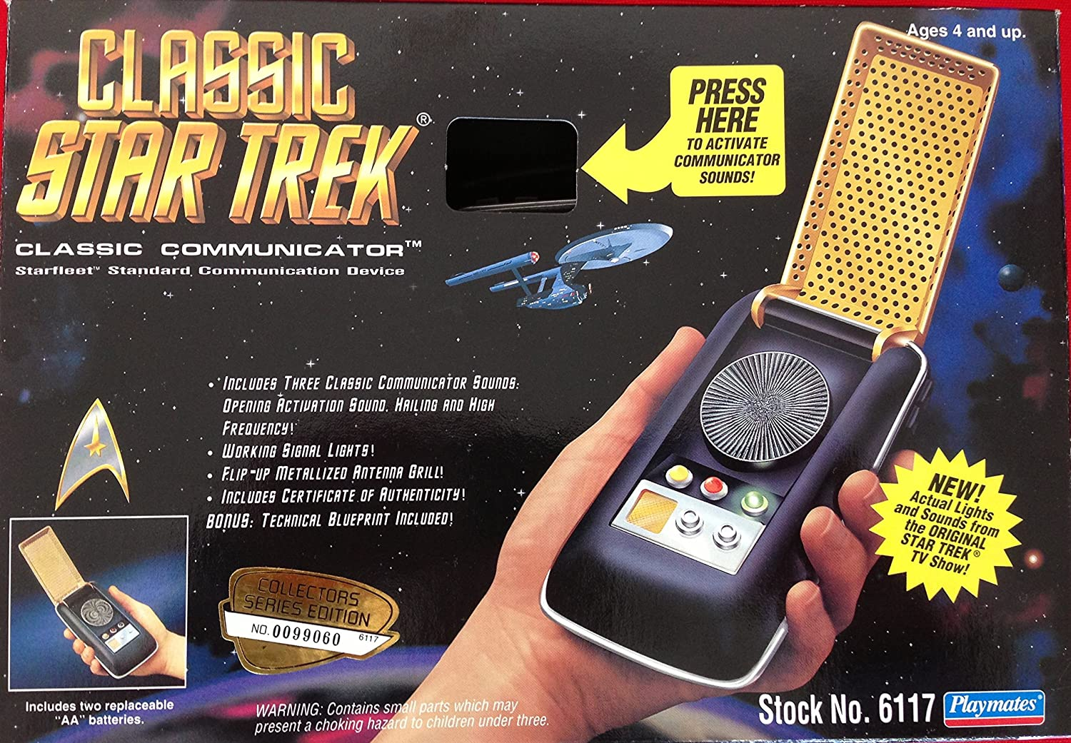 Classic Star Trek Electronic Communicator