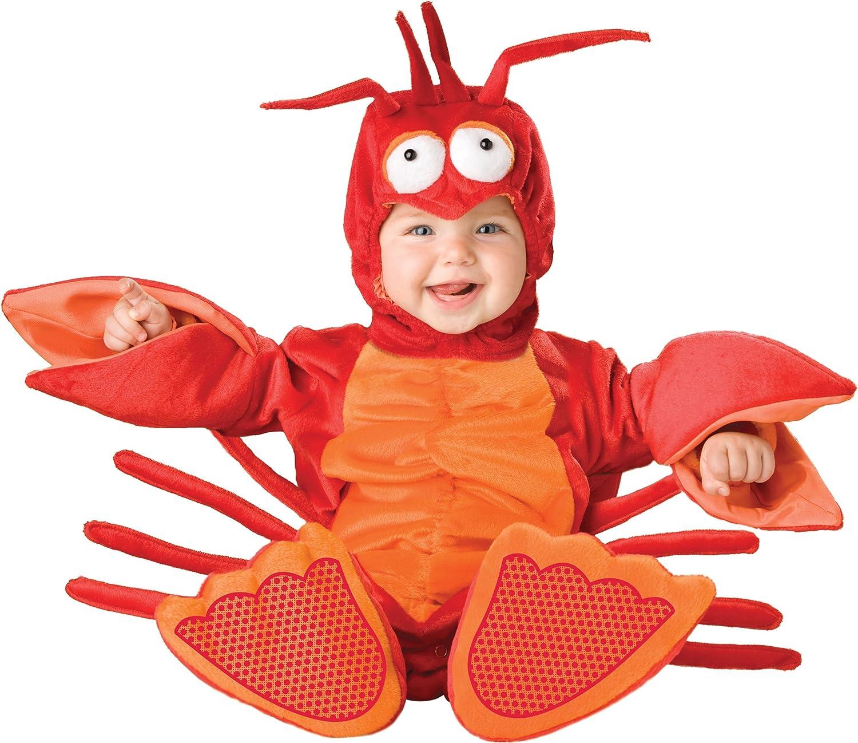 InCharacter Lil' Lobster Infant Toddler Costume 06