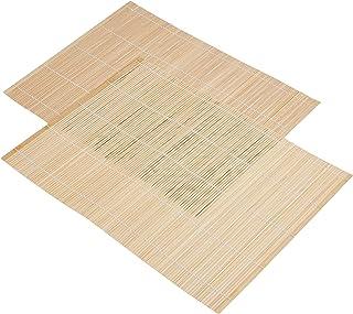 Prestige Wood Baboo Placemats, Brown [PR42201]
