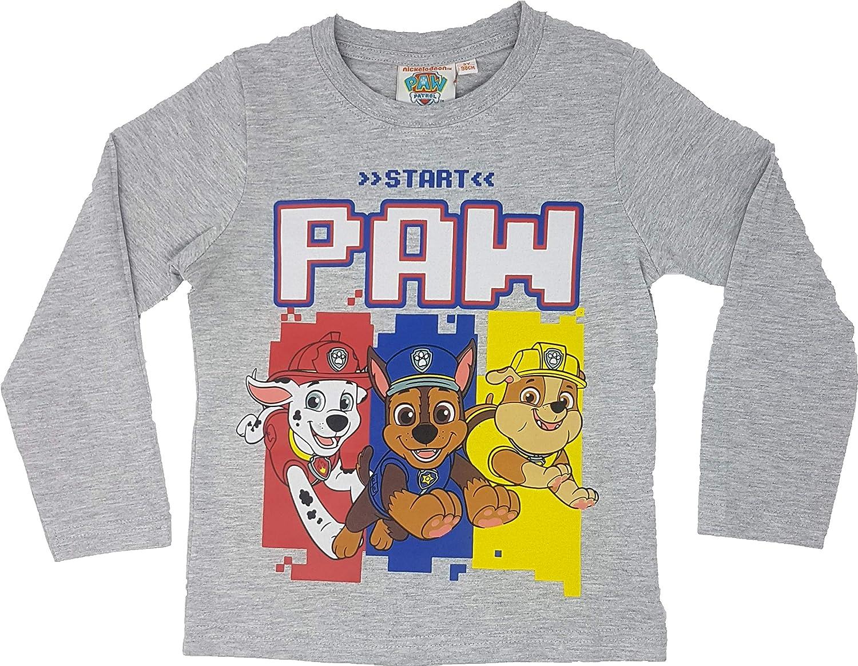Paw-Patrol Jungen Langarmshirt Pullover Shirt