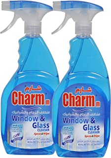 Charmm Window & Glass Cleaner Blue 750ML - Pack of 2