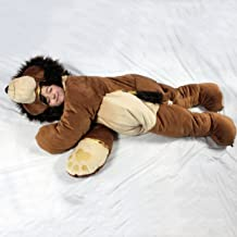 SnooZzoo for Children up to 54 inches Tall. The Original Lion Children's Stuffed Animal Sleeping Bag.