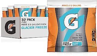 Gatorade Instant Powder, Glacier Freeze, 21 Ounce (Pack of 32)