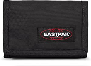 Eastpak Crew Single Geldbörse, Schwarz (Black), 9.5 cm x 13.5 cm