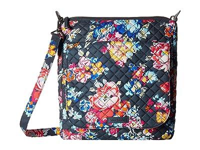 Vera Bradley Carson Mailbag (Pretty Posies) Bags
