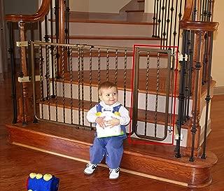 Cardinal Gates 10.5 in. Wrought Iron Decor Pet Gate Extension