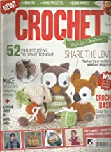 CROCHET GIFTS FOR CHRISTMAS MAGAZINE PLEASE NOTE : FRONT & BACK COVER PAGES CORNERS ARE ROUGH OR DAMAGED. INSIDE THE MAGAZINE PAGES ARE FRESH & CRISPY.FOR MORE DETAILS, PLEASE CHECK PICTURE. ( CONDITION LIKE NEW. ) ( SINGLE ISSUE MAGAZINE )