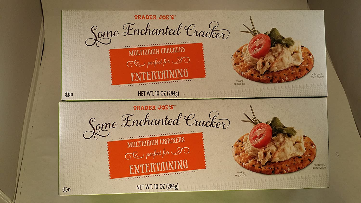 Price reduction Trader Joe's Outlet sale feature Multigrain Crackers Perfect 2 Pack Entertaining for