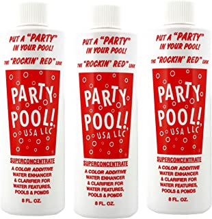 3 PACK - Party Pool Color Additive Rockin Red 47016-00010