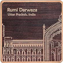 Toshakhana 806 Fridge Magnet MDF Sq Laser Cut Rumi Darwaza Lucknow UP India Souvenir