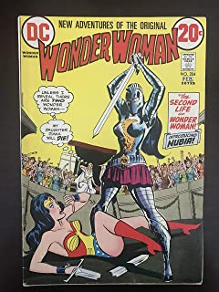 Wonder Woman #204 Mark Jewelers Variant 1973 DC Comic Book. First Appearance of Wonder Woman's Sister Nubia