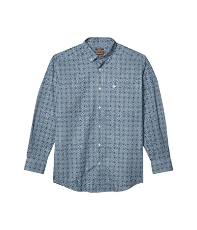 Ariat Rutherford Stretch Print Stretch Classic Fit Shirt (Poseidon) Men
