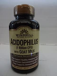 Acidophilus with Goat Milk - 100 Capsules by Windmill
