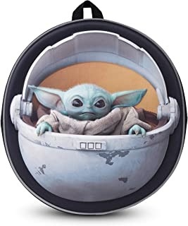 Disney® Official Star Wars The Child Backpack Baby Yoda Mandalorian | Licenced School Travel Bags Baby Yoda in Carriage | ...
