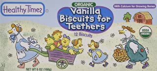 Healthy Times Organic Biscuits For Teethers Vanilla - 6 oz