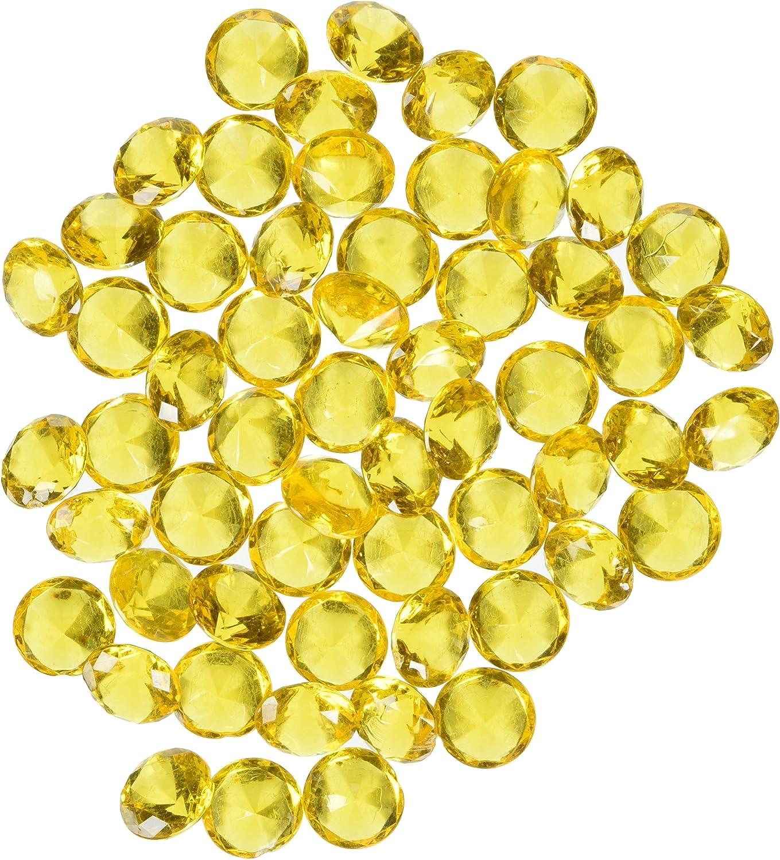 tienda en linea (oro) - Acrylic Acrylic Acrylic Gemstone Diamond Confetti Table Scatter, 1.9cm , 240-piece (oro)  Venta en línea precio bajo descuento