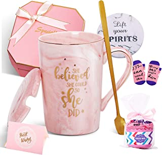 Jumway She Believed She Could So She Did Mug - Congratulations Gifts And Graduation Gifts for Her - Spiritual Inspiritiona...