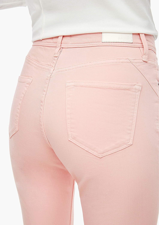 s.Oliver Hose Jeans Femme 40z8 Tender Rose Denim