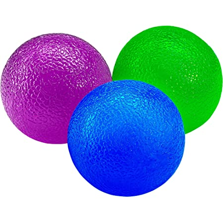 Dilwe Squeeze Stress Balls Stress Relief Lightweight Portable Therapy Hand Balls fo...