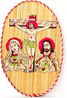 DC ECO Room Decor Wall Hanging Bamboo Made Jesus Christ (Made in India)