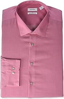 Men's Big and Tall Dress Shirts Non Iron Herringbone Solid