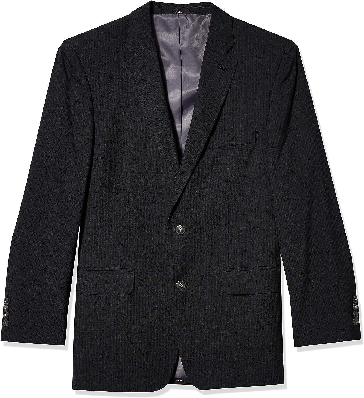Haggar Men's Tic Stripe 2-Button Suit Separate Coat