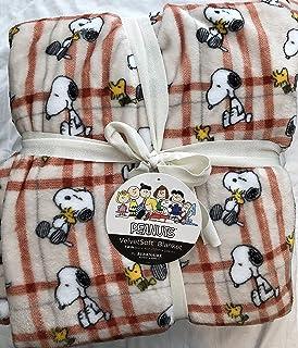 Berkshire Blankets Peanuts Snoopy Fall 60 x 90 Twin Blanket