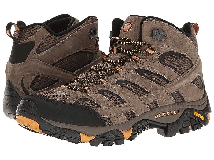 Merrell Moab 2 Vent Mid (Walnut) Men's Shoes